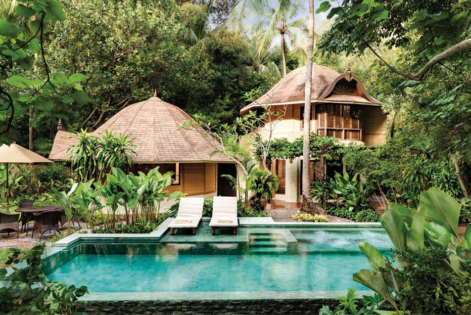 Rayavadee Krabi Accommodation Family Pavilion With Pool